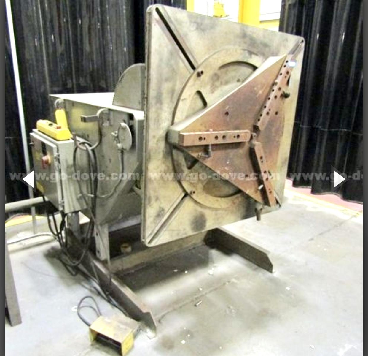6,000 lb Koike Aronson Model HD-60 Positioner
