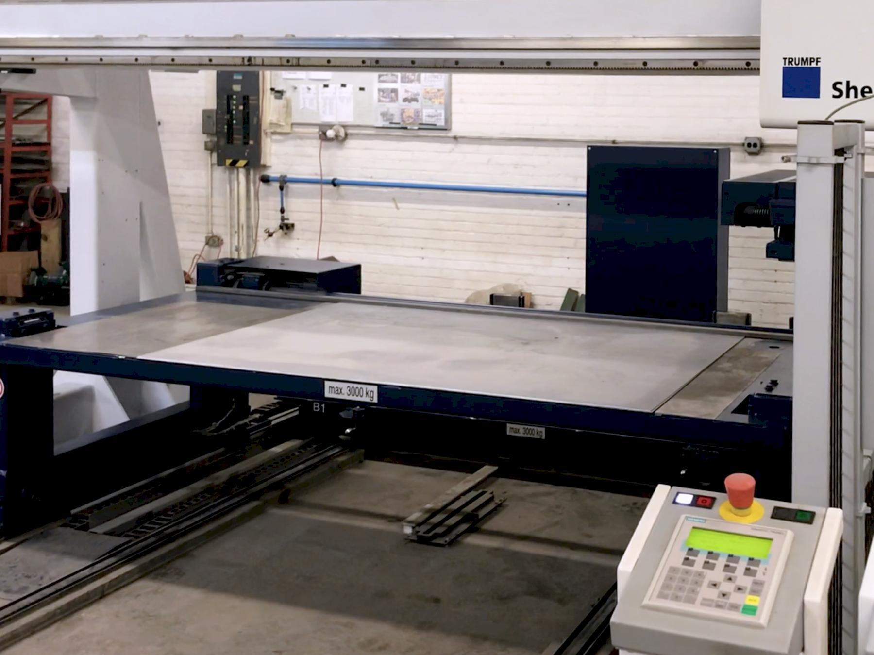 Trumpf TruPunch 3000 2012 w/Automation