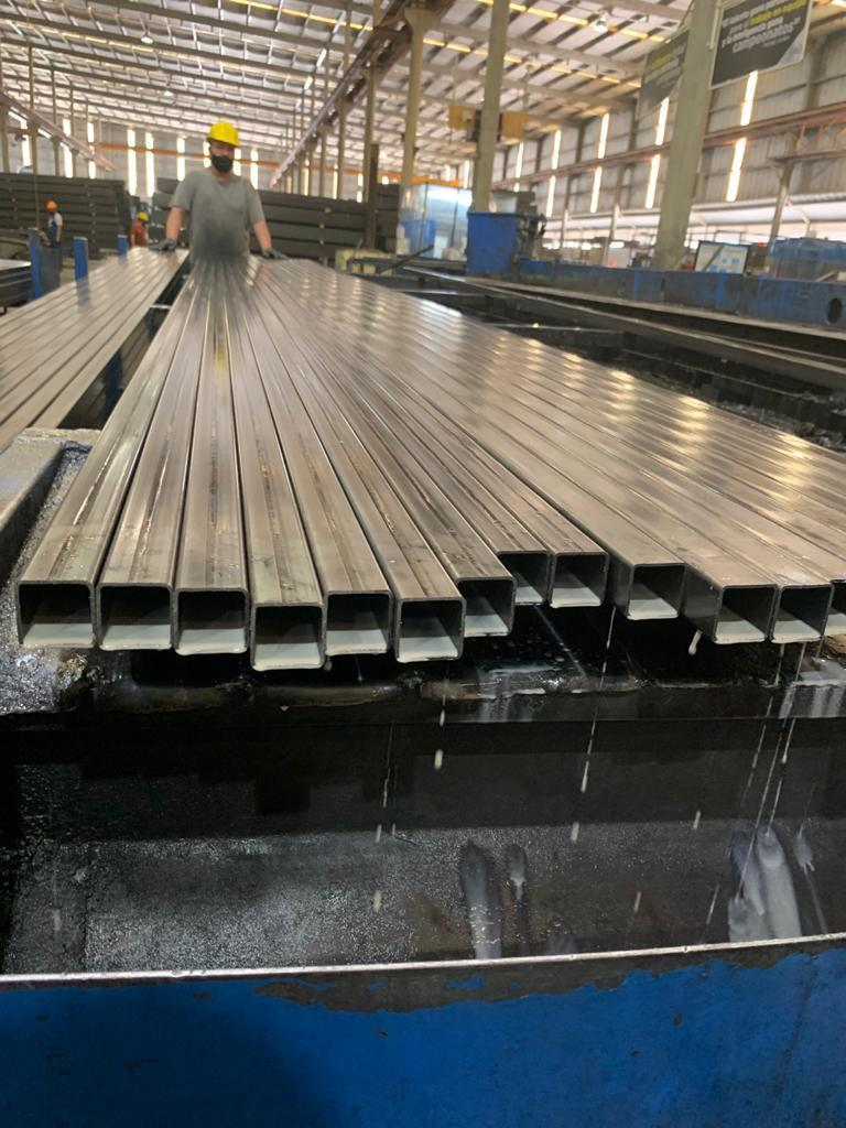 """2""""x 2"""" x .135 Yoder Form Square / Weld Square Pipe Mill"""