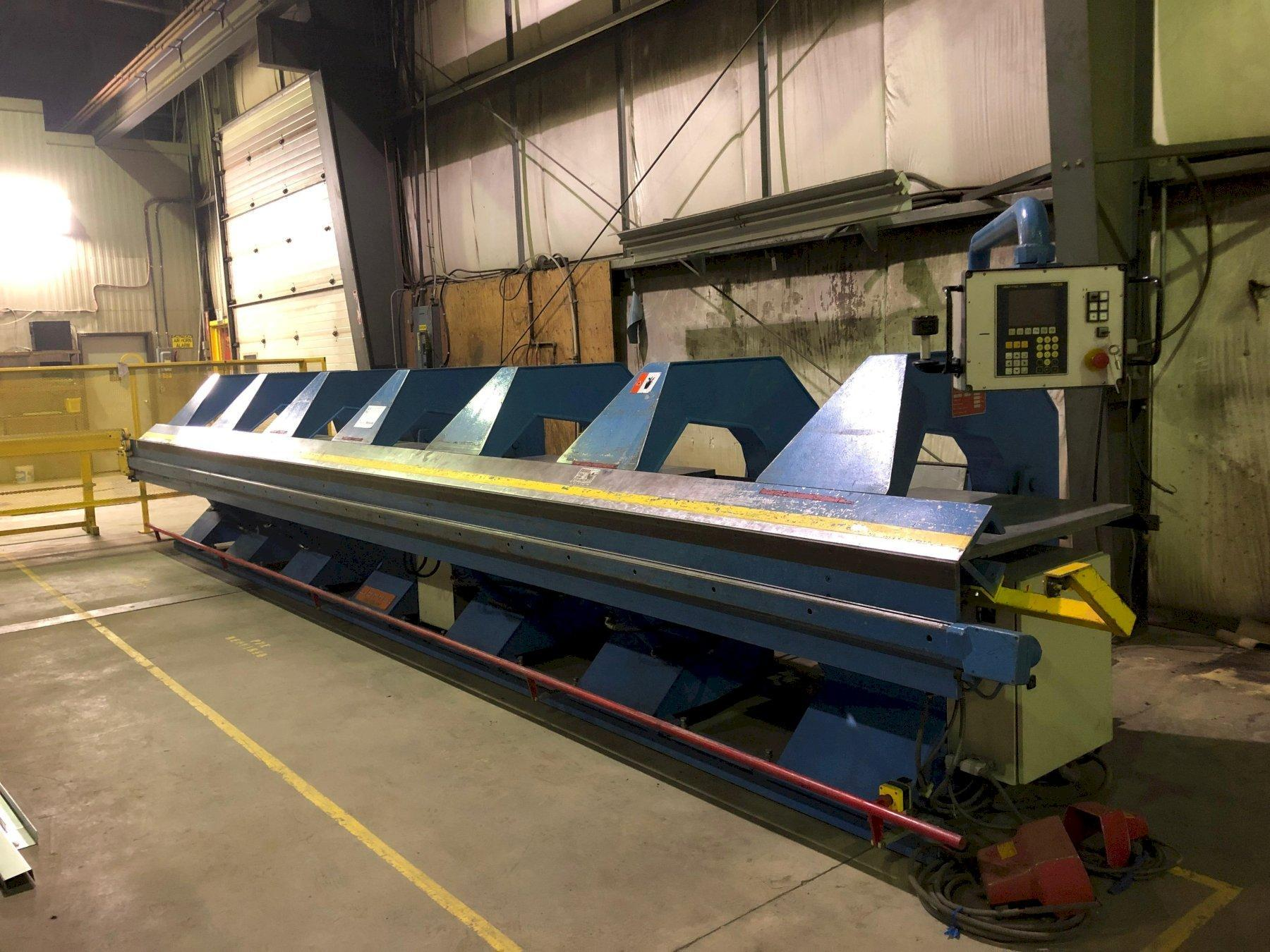 26' X 18 GAUGE JORNS AF CNC SHEET METAL FOLDER: STOCK#2166