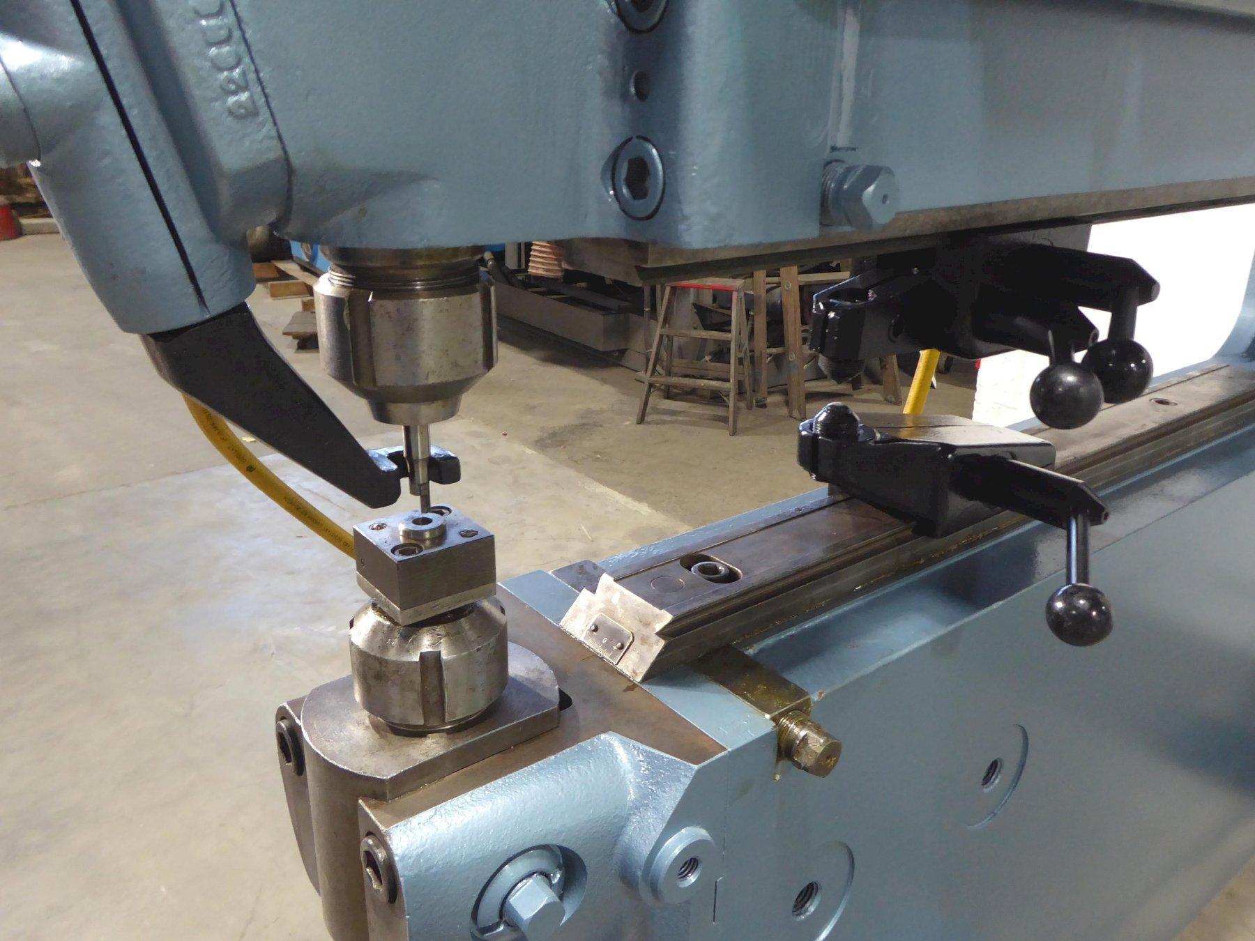 "PULLMAX No. P-9 Universal Shearing and Forming Machine, 3/8"" Edge Cutting Capacity, 48"" Throat, 5 HP, Clean"