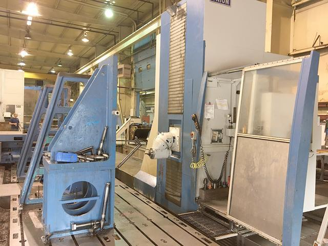 """UNION FC-1 Universal CNC Machining Center, 79"""" x 315"""" Table, 79"""" x 98"""" Rotary Table, X=394"""", Y=102"""", Z=63"""", (2 Axis Universal Head, 50 HP, 5000 RPM. New 2006."""