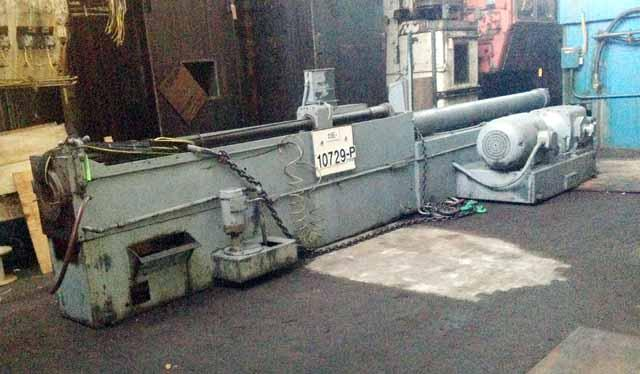 "25-Ton x 120"" stroke Oilgear Model XL-50Bx120 Horizontal Broaching Machine"