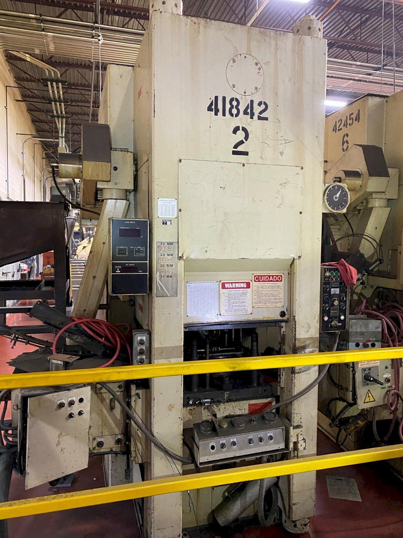 275 TON AIDA COLD FORGING MODEL K-250(2) PRESS
