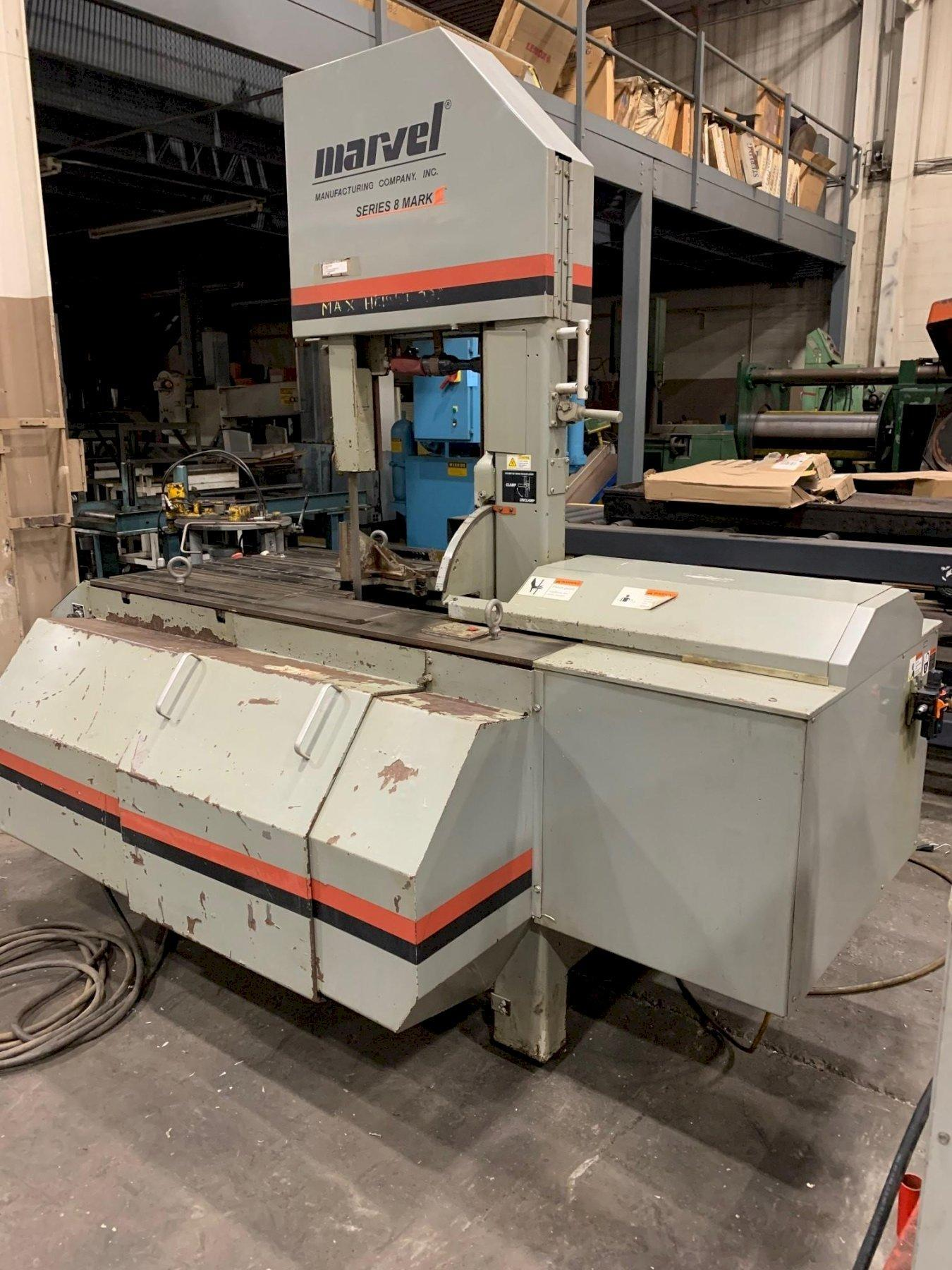 """USED MARVEL 18"""" X 22"""" VERTICAL MITERING BANDSAW MODEL 8 MARK III, Stock# 10869, Year: 2008"""