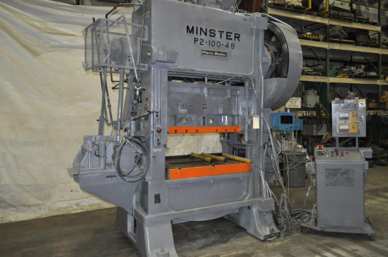 100 Ton Minster P2-100 Minster SSDC