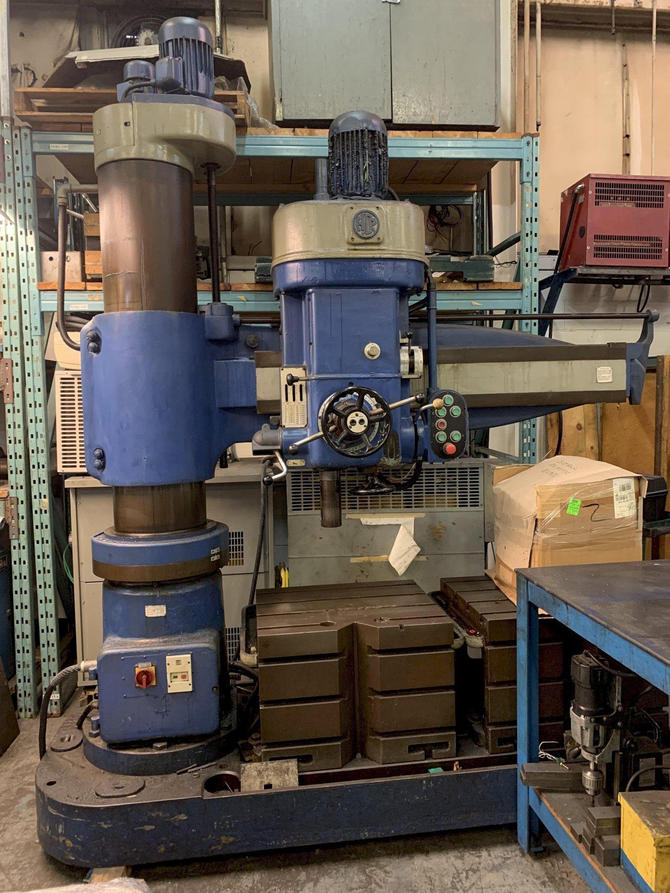H.Cegieliski WR50 Radial Drill