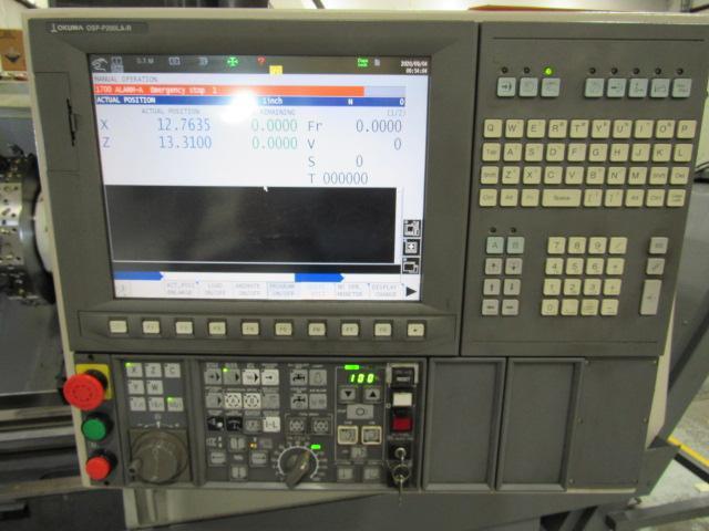 Okuma Genos L400E CNC Turning Center (2012)