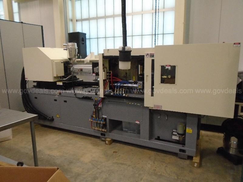 Nissei Used NEX80III-12EG Electric Injection Molding Machine, 88 US ton, Yr. 2012, 4.3 oz.