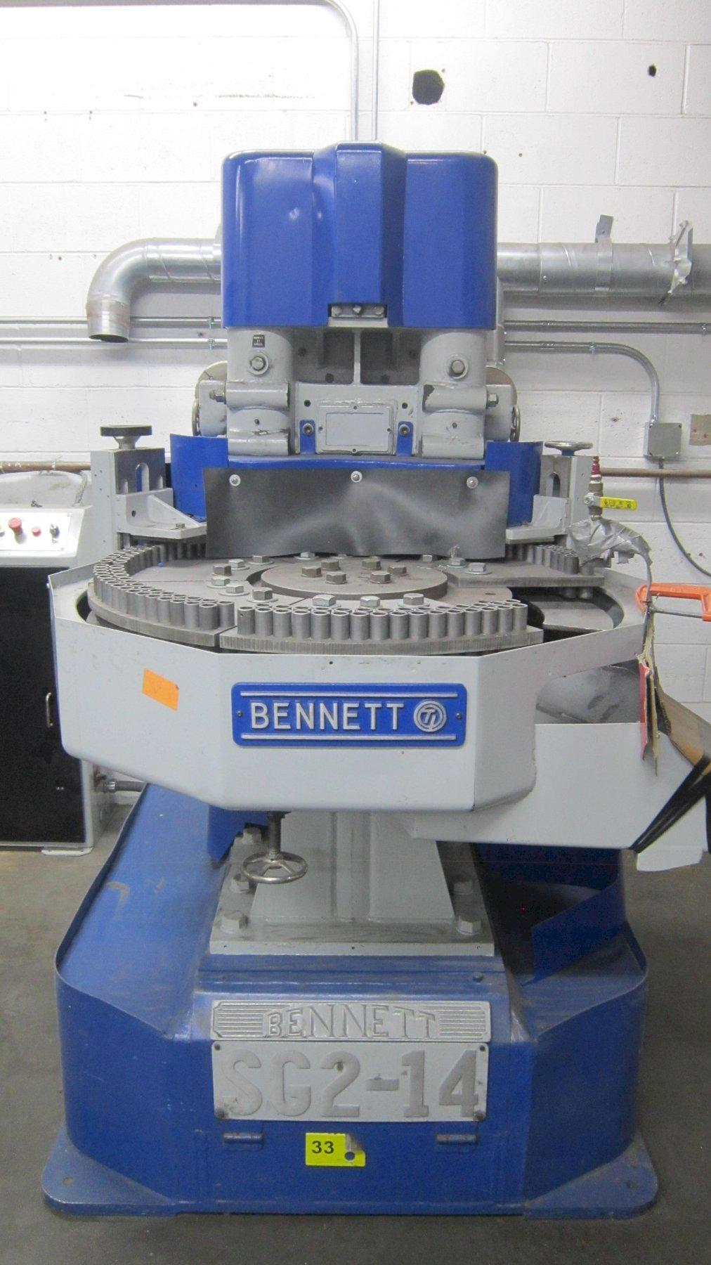 Bennett SG2-14 Dual Head Spring Grinder