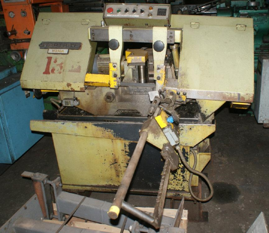 "USED STARTRITE AUTOMATIC BANDSAW, Model H250A, 10"" x 10"", Stock No. 8489"