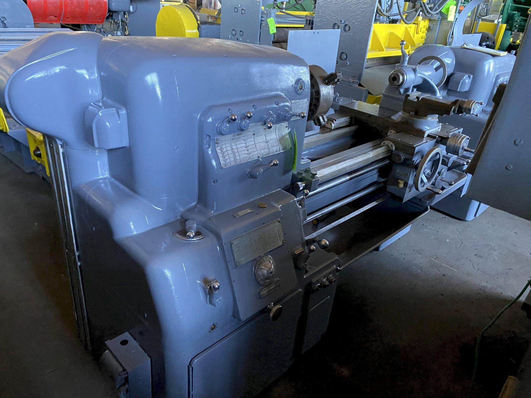 "24.5 x 30""  Monarch Engine Lathe"