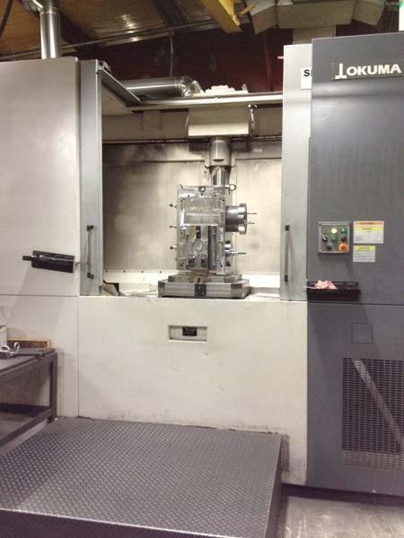 Okuma MA-600HB CNC Horizontal Machining Center
