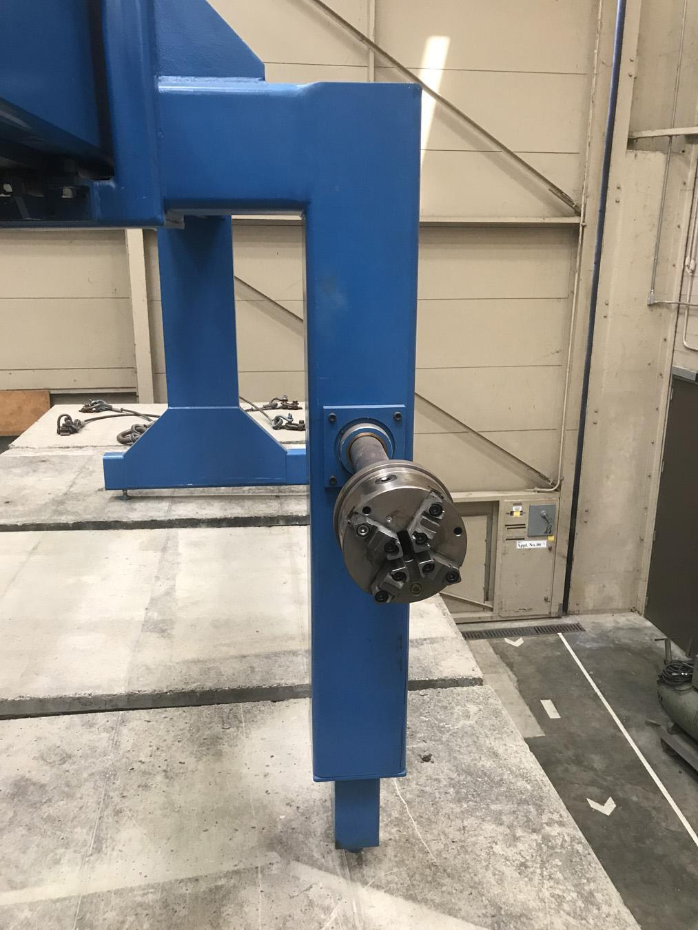 USED, ENTEC (ENGINEERING TECHNOLOGY INC.) MODEL PW34H-80-5 FILAMENT WINDING SYSTEM