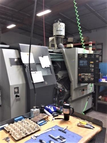 Mori Seiki Model ZL-203SMC, 9-Axis CNC Lathe, New 2004