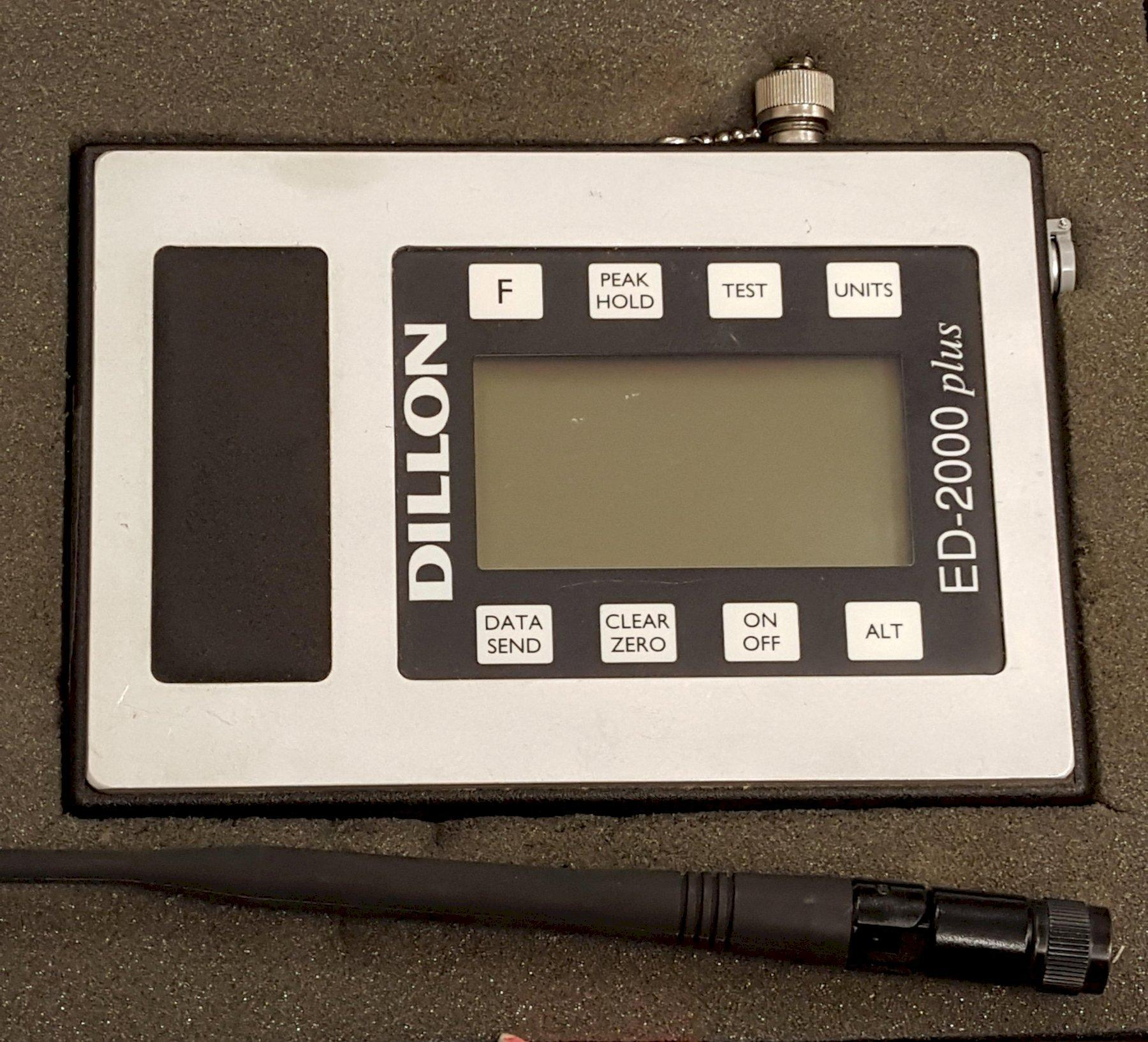 DILLON MODEL HR-2000 CRANE SCALE MONITOR: STK 62343