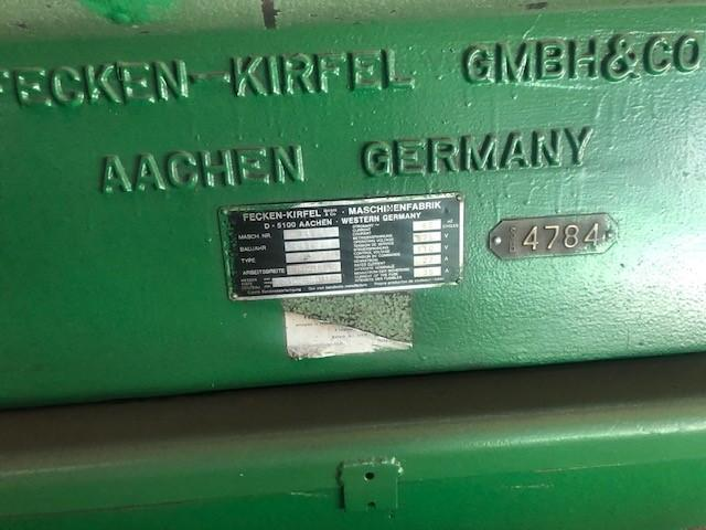 KECKEN - KIRFEL SPLITTER / SLITTER MODEL D-5100 AACHEN STOCK#2479
