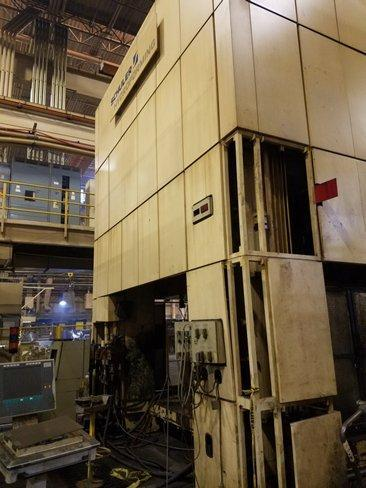 5000 ton Schuler SHP 50000-3150/2150 Hydraulic Press, New 2000
