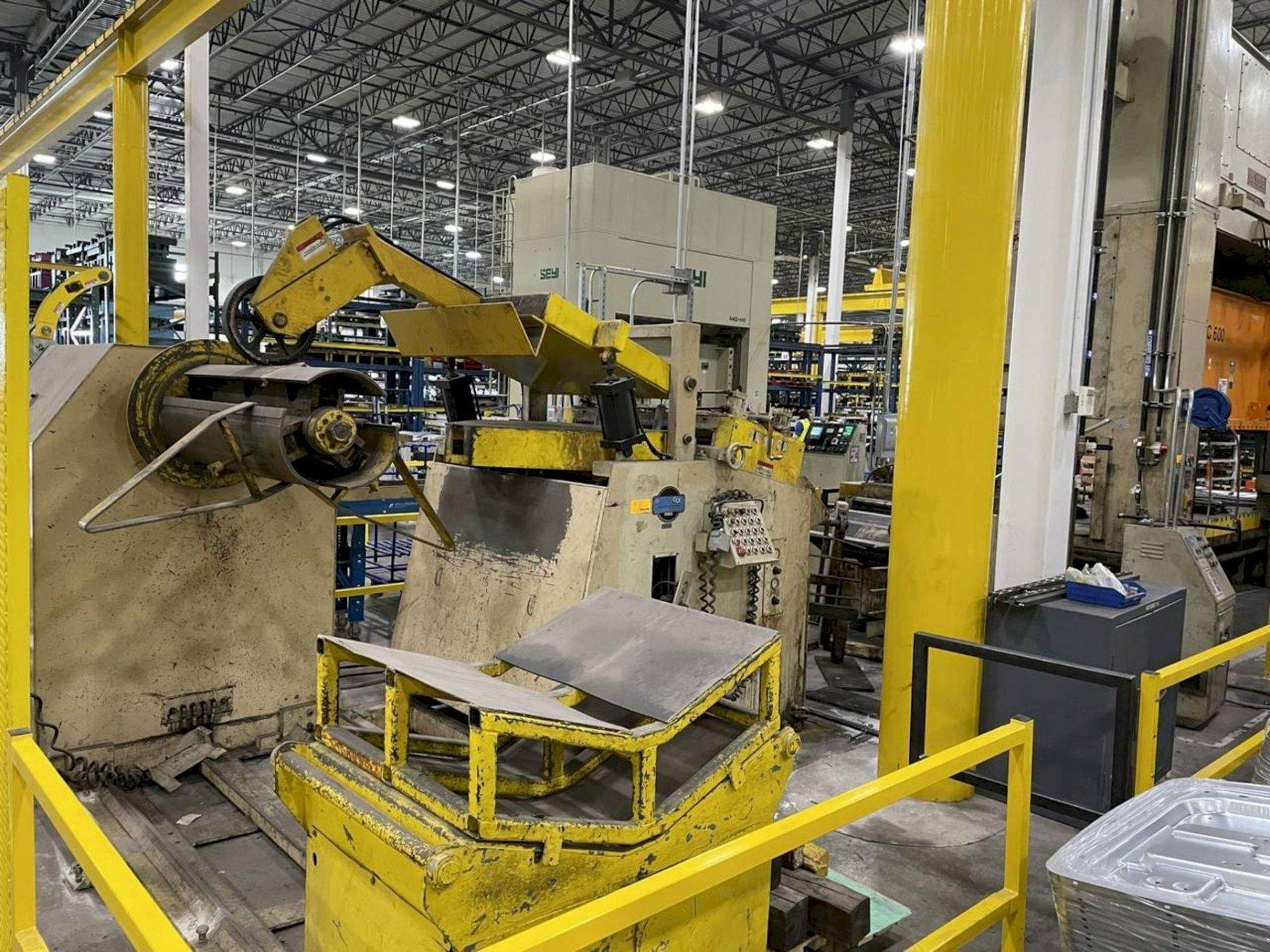 Coe Press Coil Feed Line 15,000 lb x 48