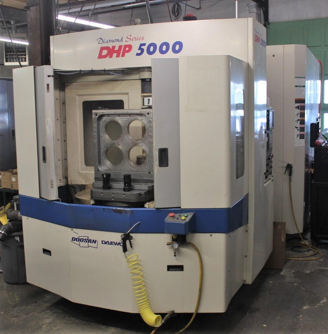 Doosan DHP 5000 CNC Horizontal Machining Center 2006