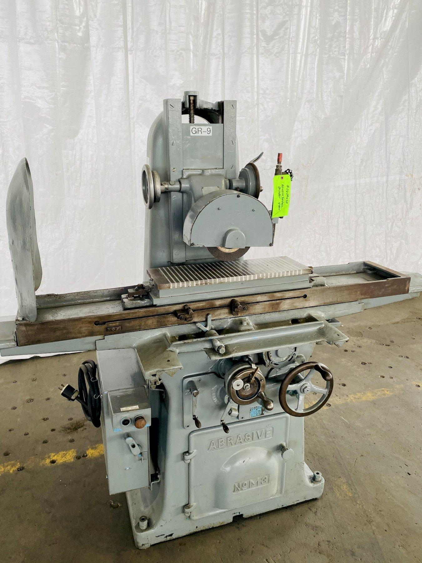 "8"" X 24"" DOALL ABRASIVE NO. M3 SURFACE GRINDER. STOCK # 0609420"