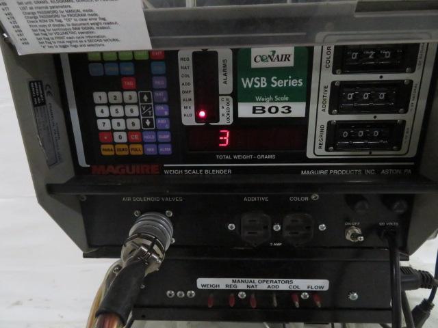 Conair Maguire Used WSB-140R Gravimetric Blender