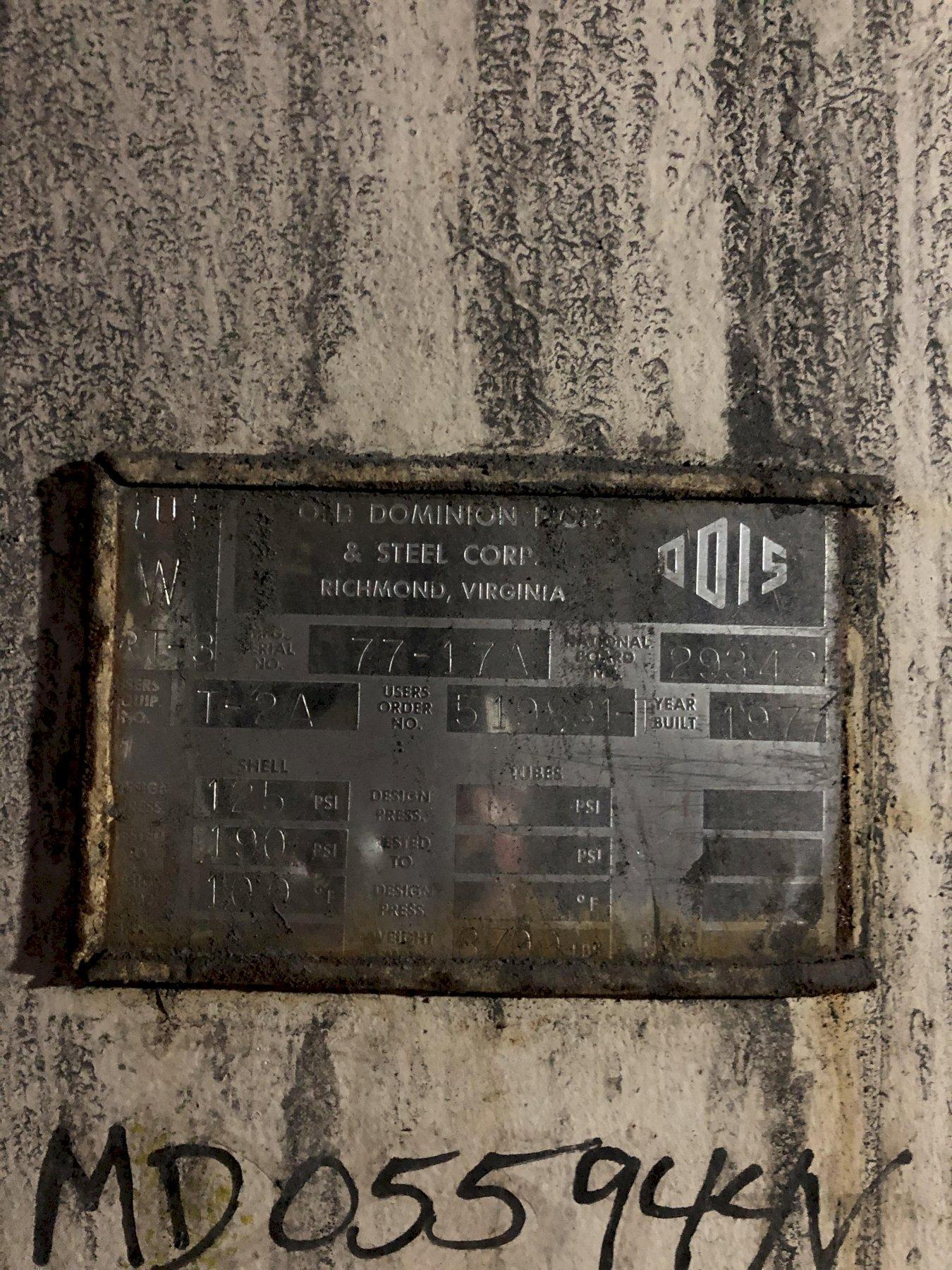 air receiver 6' x 8' tall