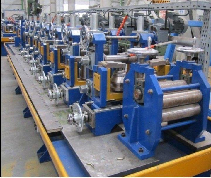 """3"""" (88.9mm) x 3.2mm Pipe & Profile Tube Mill with Rafted Stands for Quick Change Tooling NEW"""