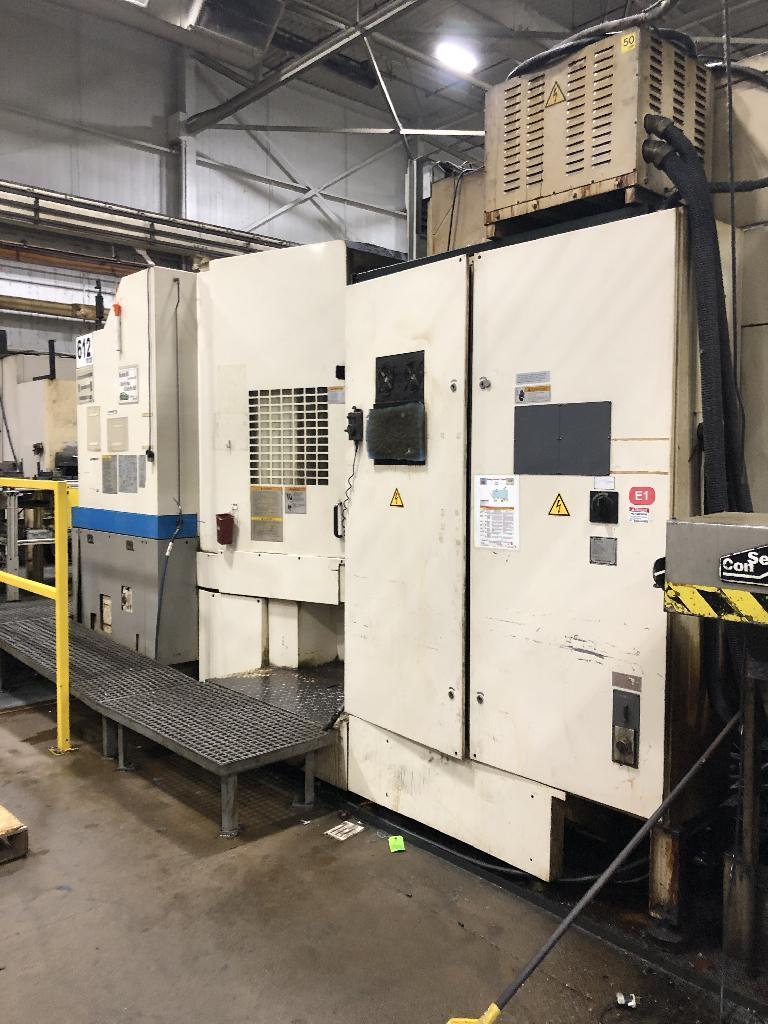 Makino MA-60HB CNC 4-Axis Horizontal Machining Center