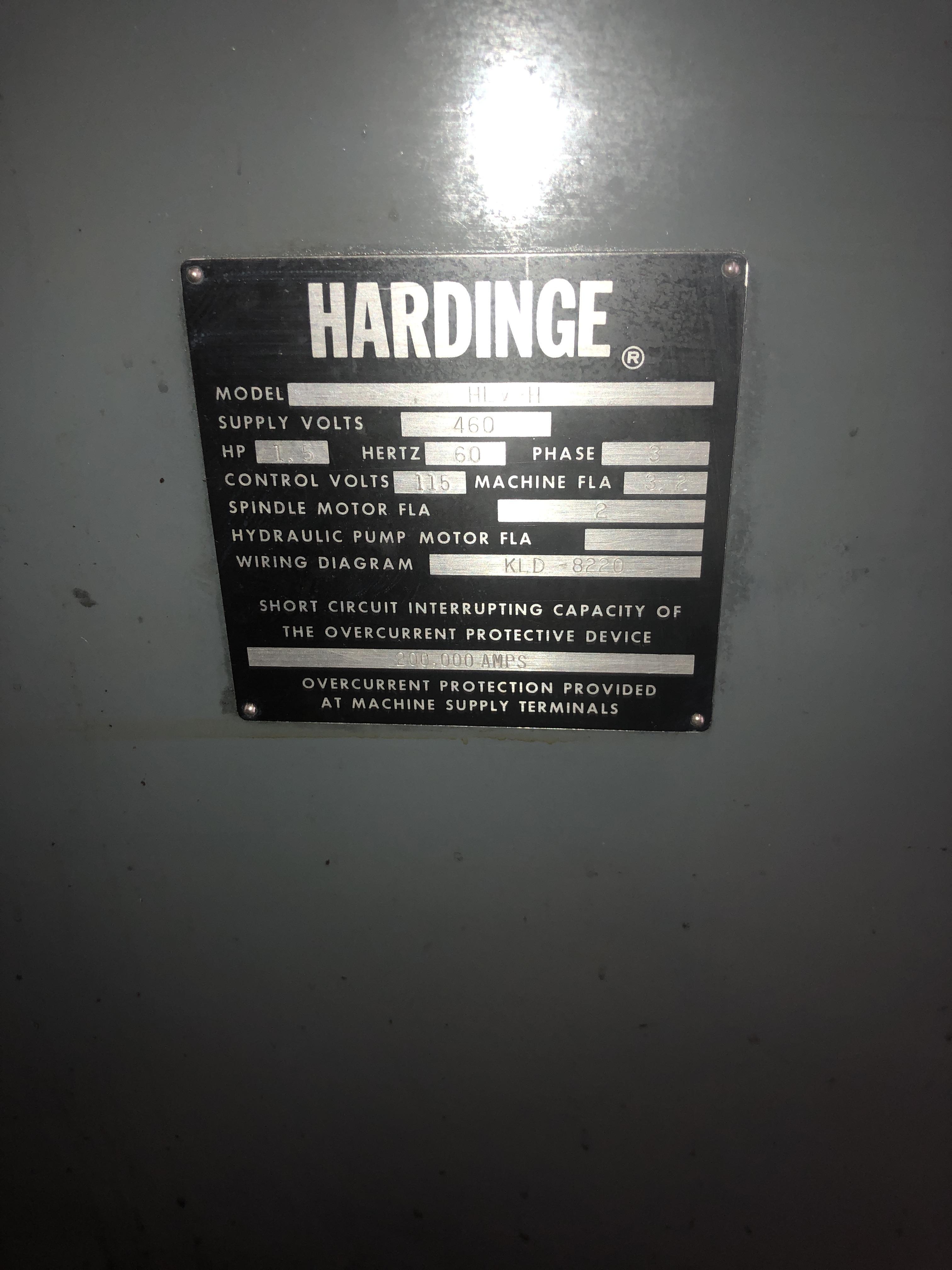 HARDINGE HLV-H - Lathes, Engine   Machine Hub on