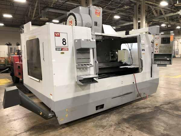 Haas VF8B/40 4-Axis Vertical Machining Center