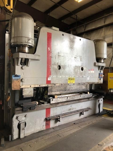 600 TON X 14' PACIFIC MODEL #K-600-14 HYDRAULIC PRESS BRAKE, NEW 2000. STOCK # 1801720