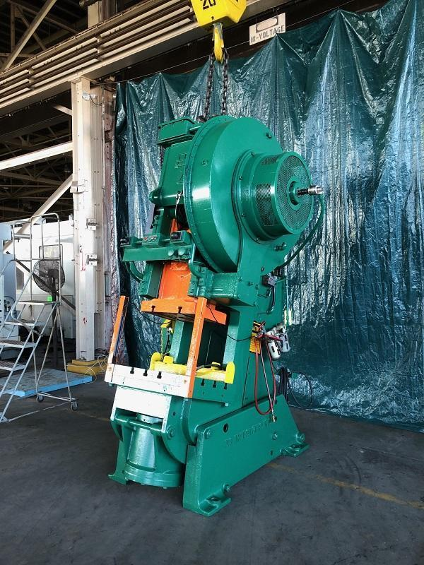 75 Ton Clearing OBI Press