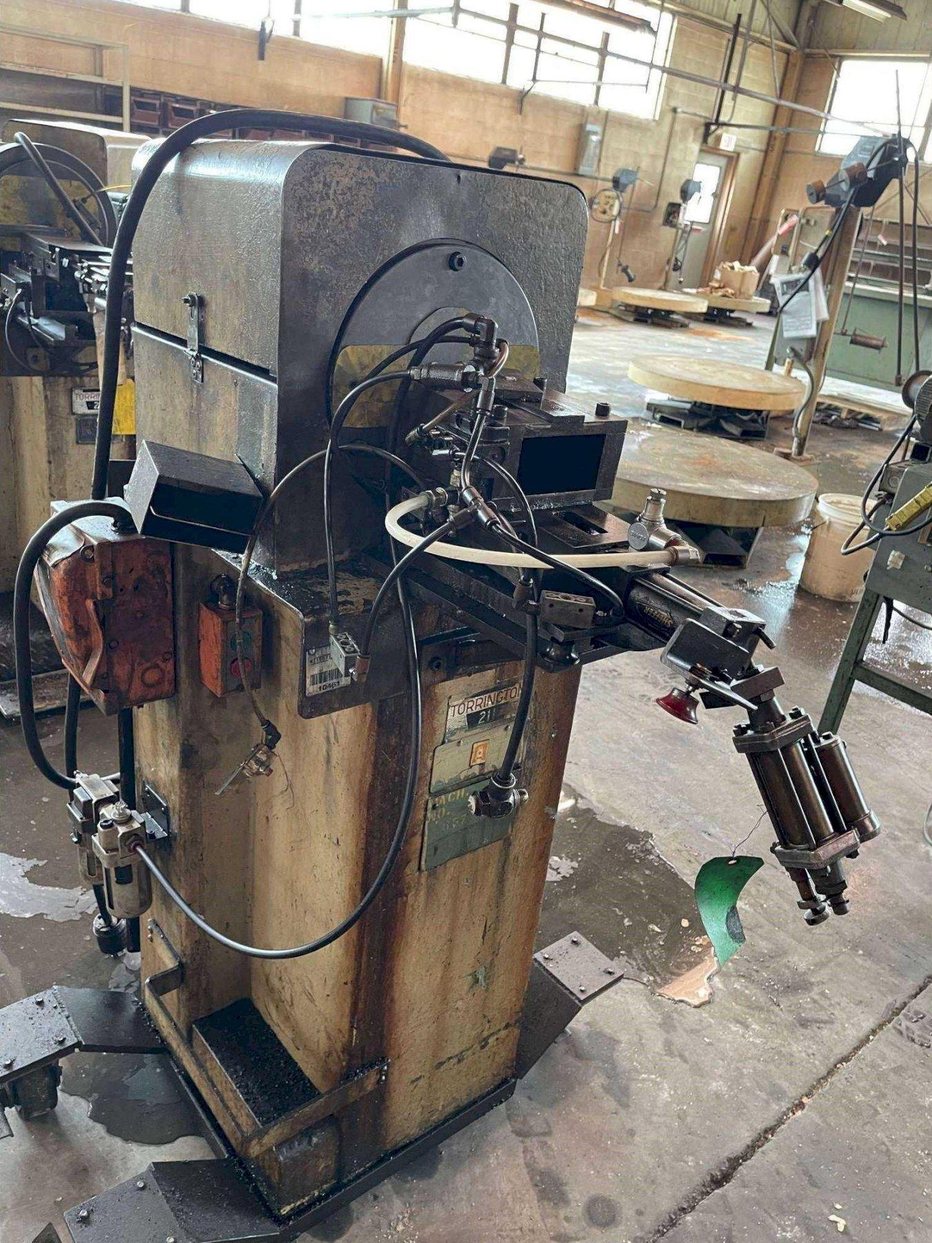 "1/2"" TORRINGTON MODEL 211 SWAGING MACHINE. STOCK # 0957921"
