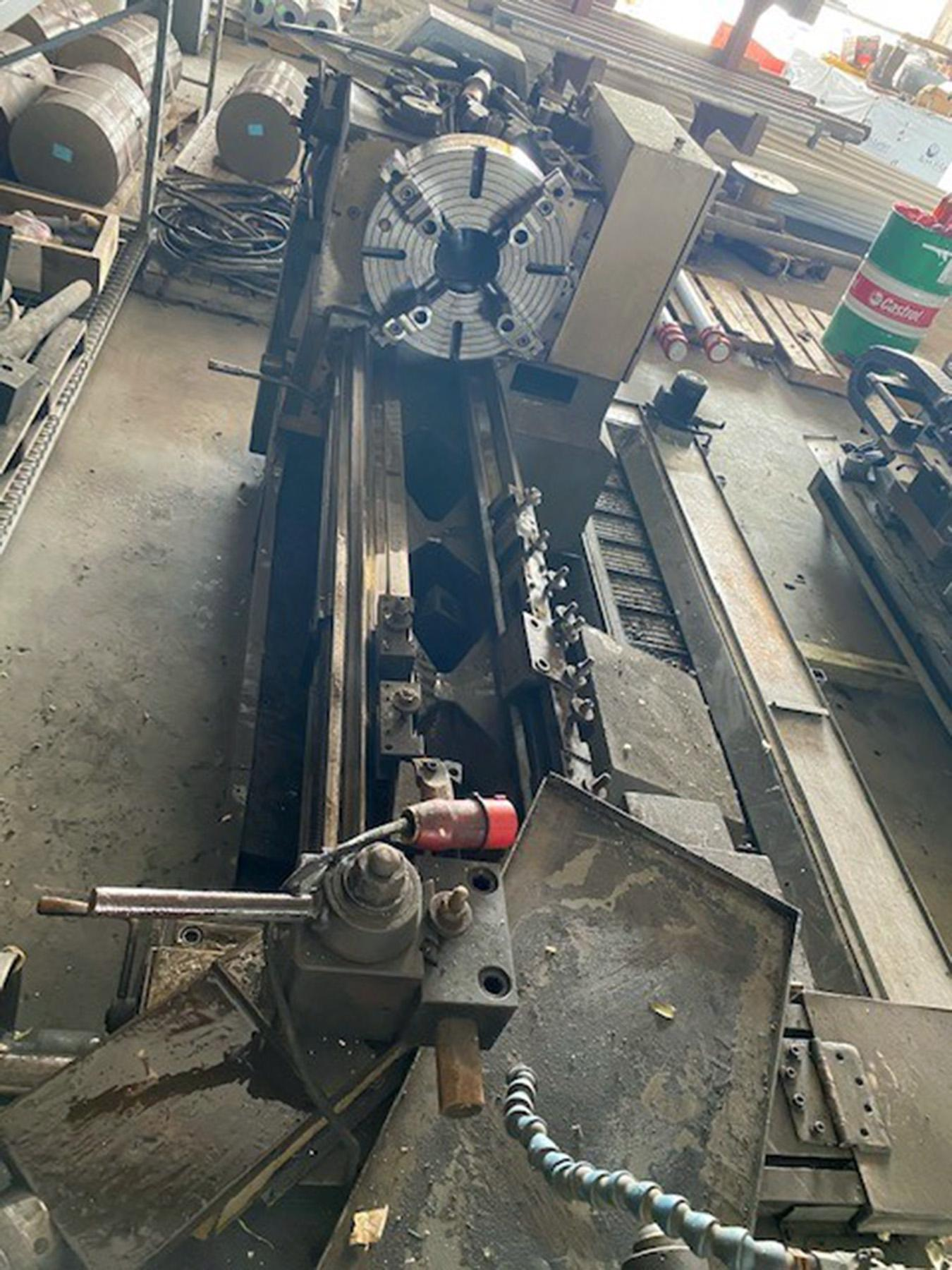 "USED, 24"" X 80"" TOOLMEX MODEL TUR 630A ENGINE LATHE"