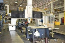 2007 MAG CINCINNATI U5 CNC 5-Face Traveling Gantry Rail Type Milling Machine