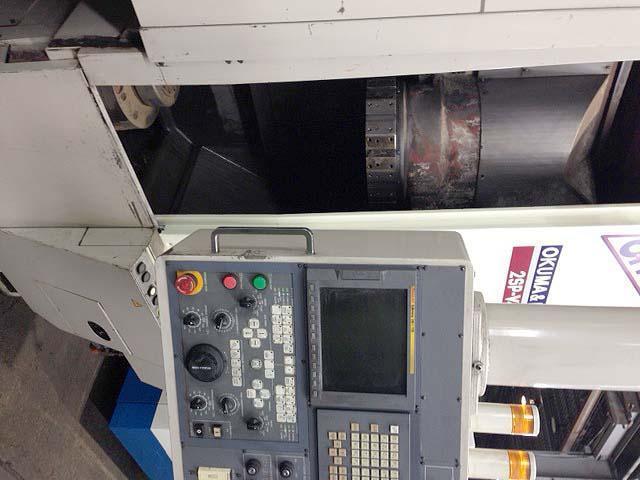 "Okuma Howa, Model 2SP-V40, Fanuc 18i CNC Control, 20"" Swing, 18"" Cutting Height, (2) 28HP Spindles, New 2005."