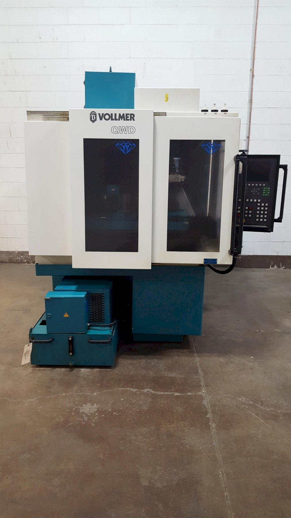 Vollmer Model QWD-76P PCD Tipped Tool Wire Electrical Discharge Machine