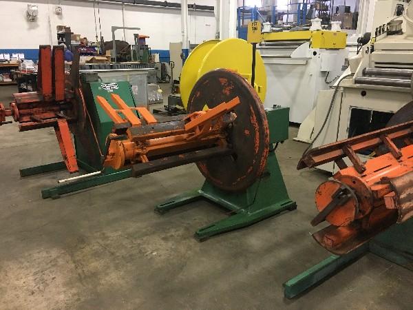 "LITTELL (Motorized) Coil Reel Uncoiler 4,000 Lbs. x 36"" Wide"