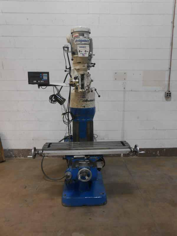 Bridgeport Series I Vertical Ram Type Turret Milling Machine