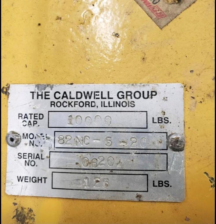 10000# CALDWELL COIL HOOK