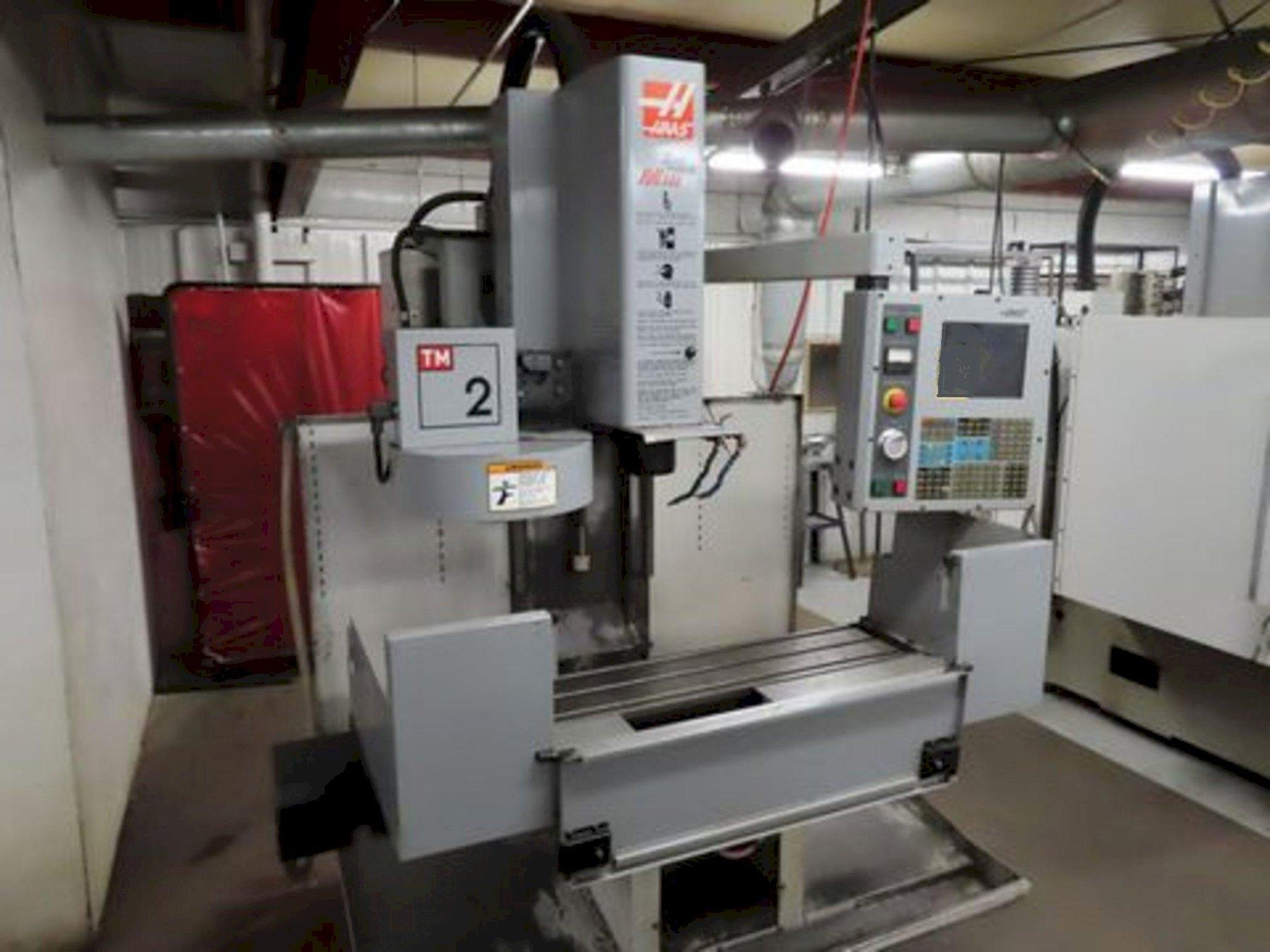 HAAS MODEL TM-2 CNC VERTICAL MACHINING CENTER