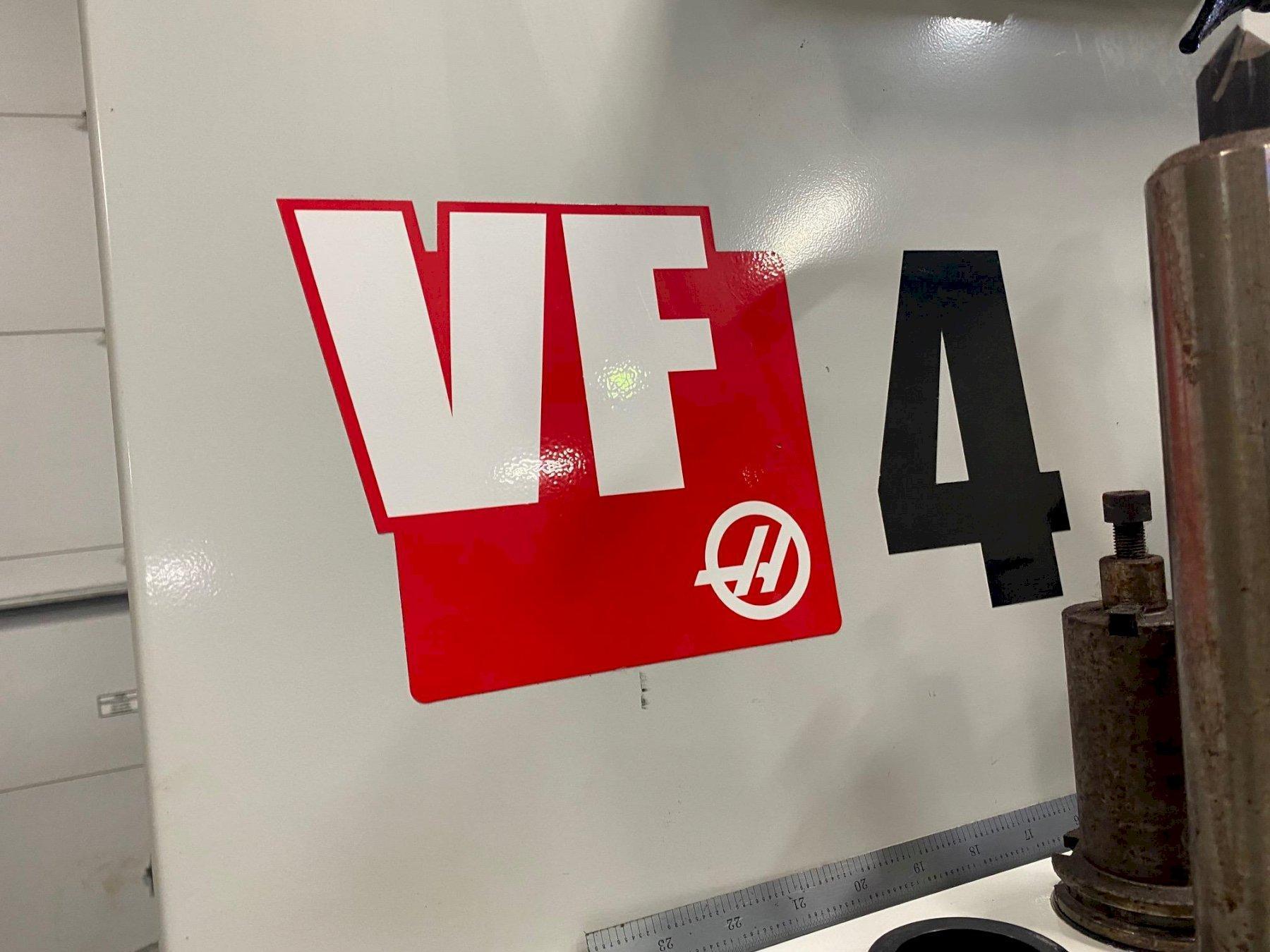 Haas VF-4 w/HRT310 Rotary Table 2017
