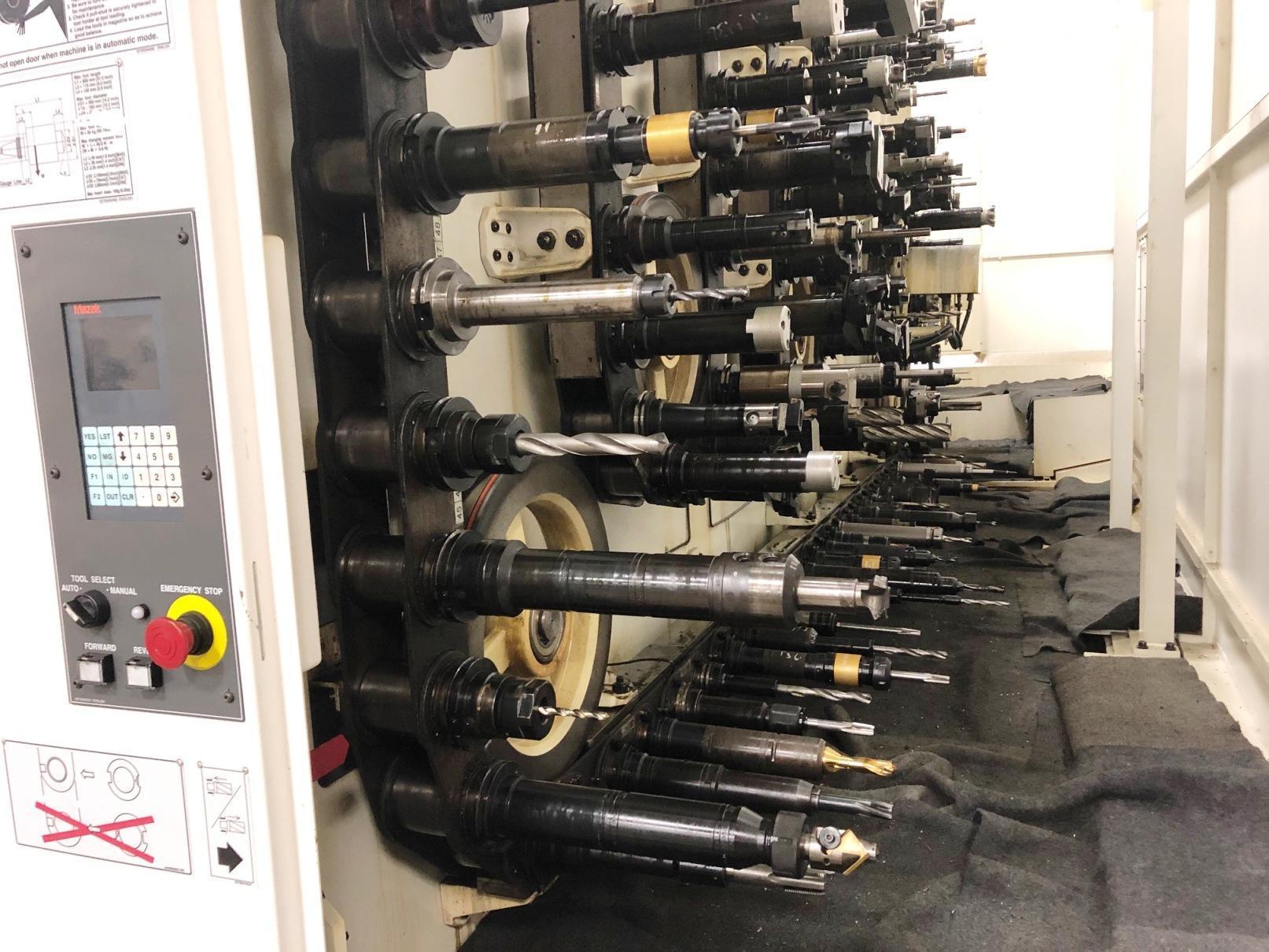 MAZAK HCN 12800 HORIZONTAL MACHINING CENTER