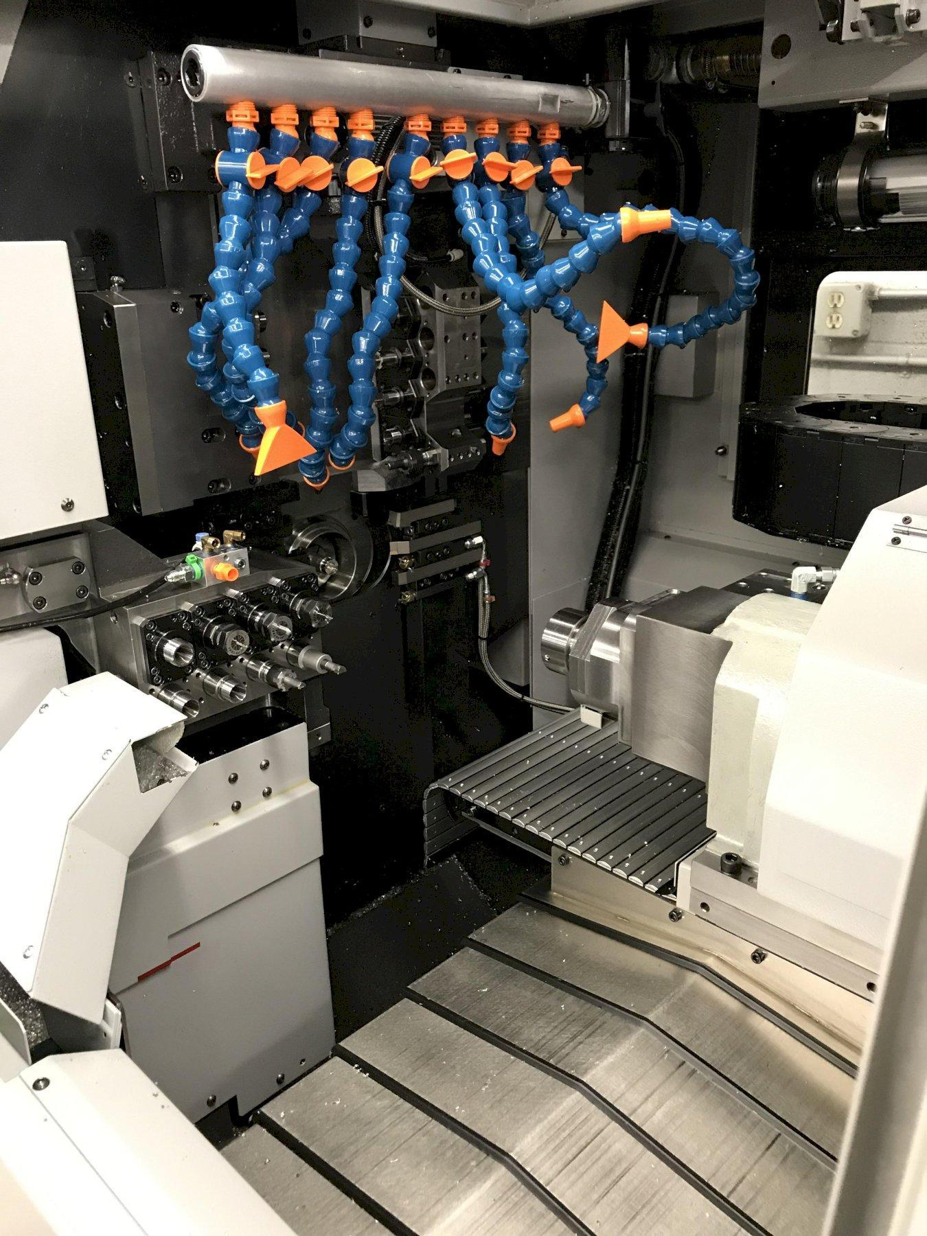 Tsugami SS327-5AX CNC Swiss Lathe 2017