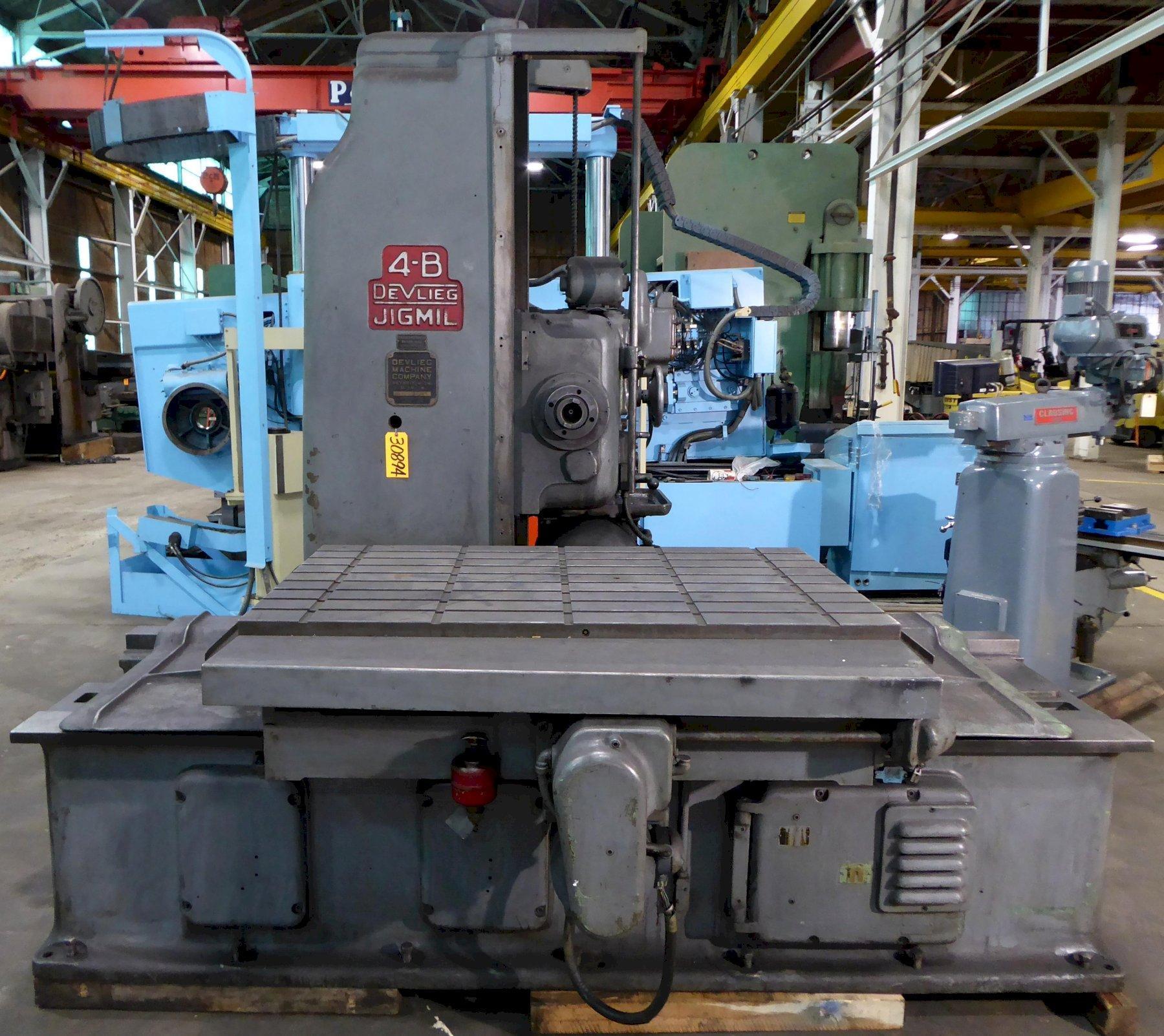 4B-72 DeVlieg Jigmil, 36″ x 72″ Tbl., 50 Taper, 48″ Vert., Low Price