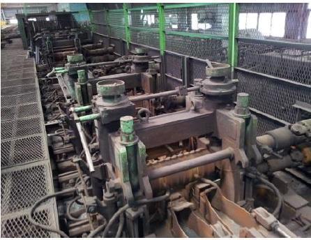 186,000 TPY Rebar Mill Plant