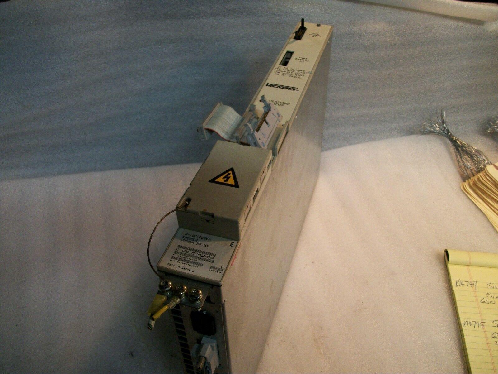 Siemens 611 Axis Drive Simodrive 611 6sn1123-1AA00-0BA0 Cincinnati # 3-720-0205A