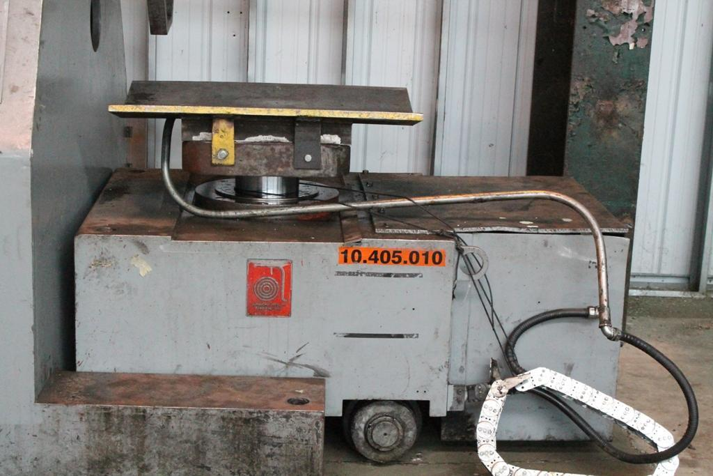 20,000 LBS X 42' AUTOMATIC FEED MOTORIZED COIL REEL & CAR: STOCK #64188
