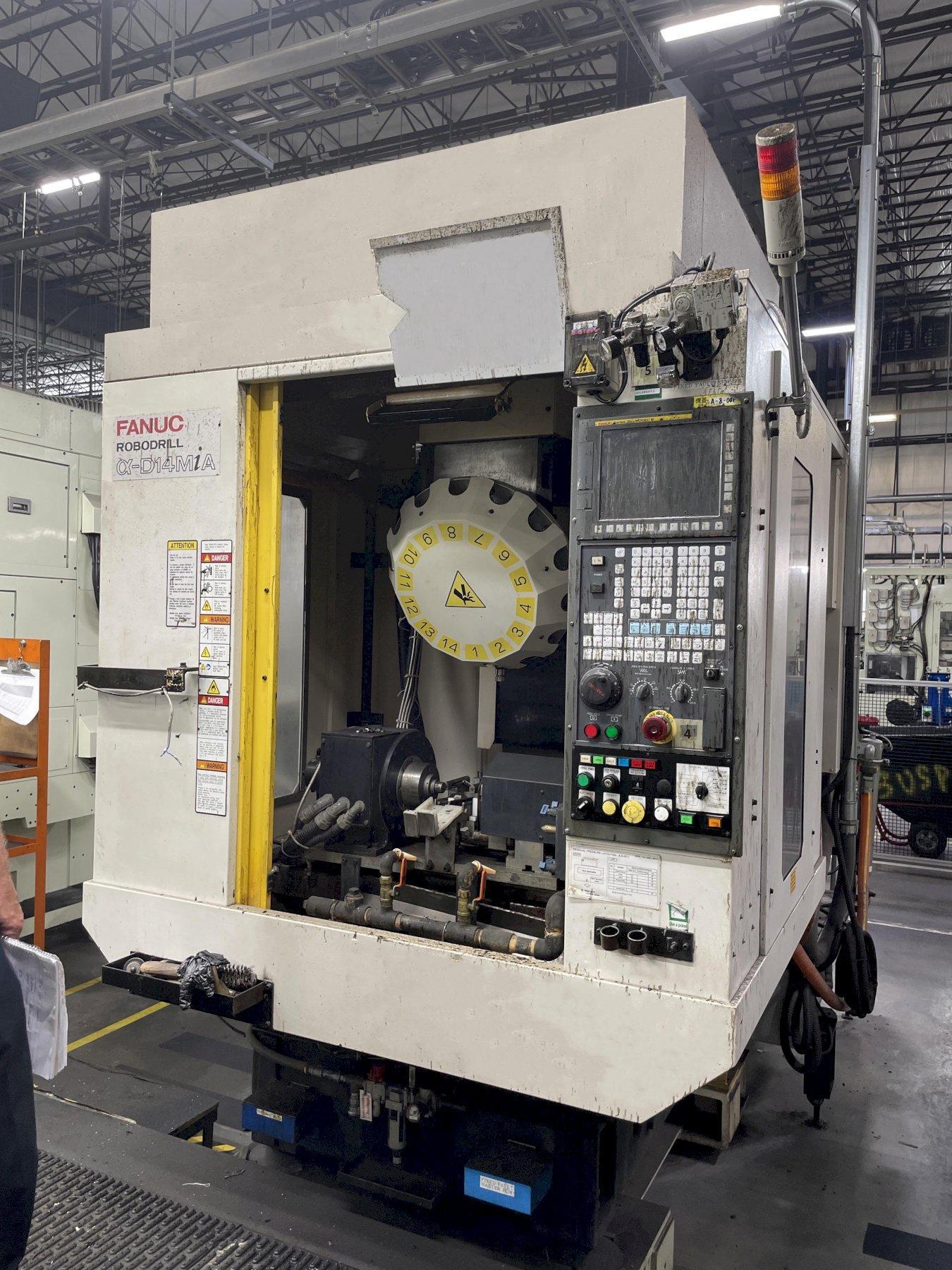 Fanuc Robodrill a-D14MiA CNC Vertical Machining Center
